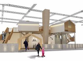 林中小屋   商业展示空间_家居展厅   概念设计