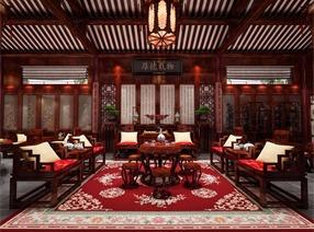 中式古典四合院