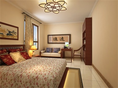 中式风格的客厅具有内蕴的风格,为了舒服,中式的环境