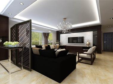 新中式古典居家风格饰品色彩可采用有代表性的中国红和