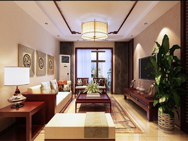 新中式,一般是指明清以来逐步形成的中国传统风格的装