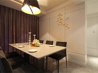 153平现代简约风格家装案例图餐厅