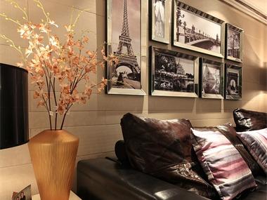 153平现代简约风格家装案例图客厅