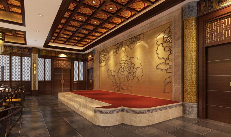 星辰山庄餐饮楼设计