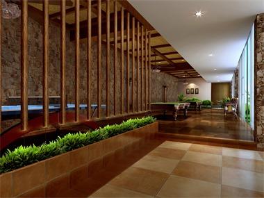 石塘竹海度假酒店娱乐区