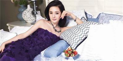杨幂访谈:内心深处爱着柔美家居的轻熟女