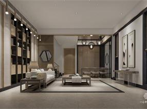 中式别墅设计·东莞棠樾别墅