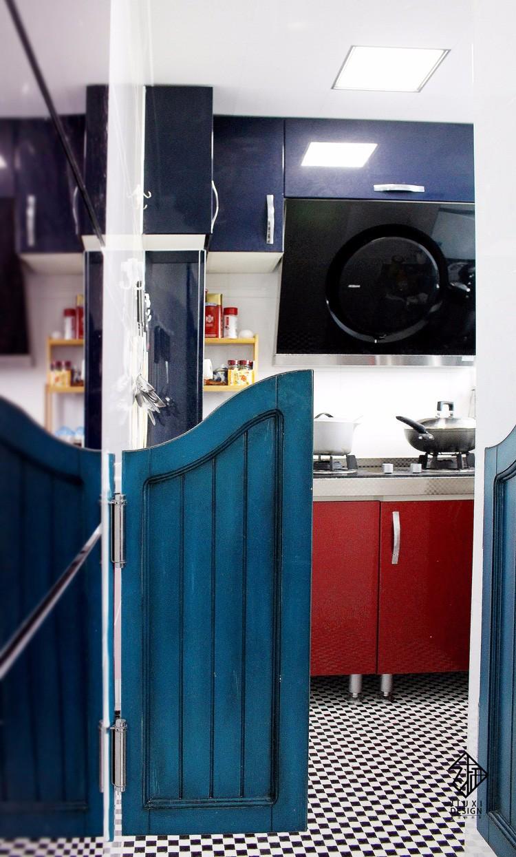 中式厨房隔断实景图