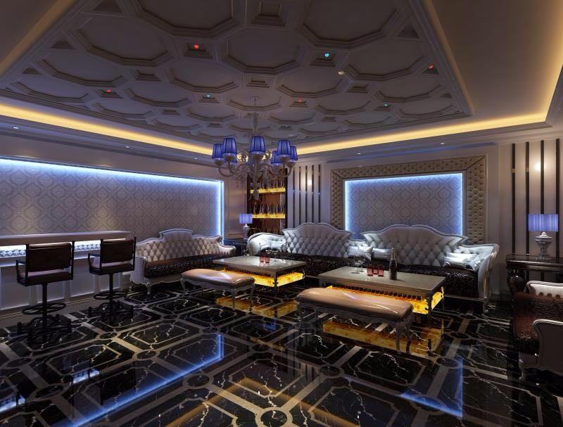 so吧大厅ktv房间0平米装修效果图_a室内设计设计作品