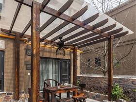 美式花园吊顶实景图