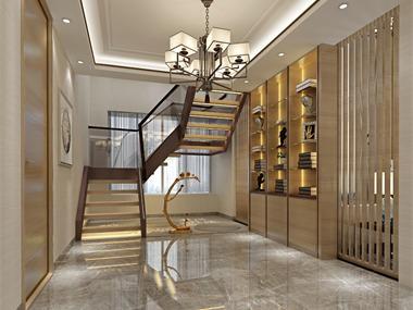 中式其它樓梯效果圖