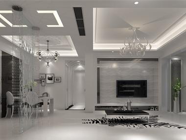 現代客廳吊頂效果圖