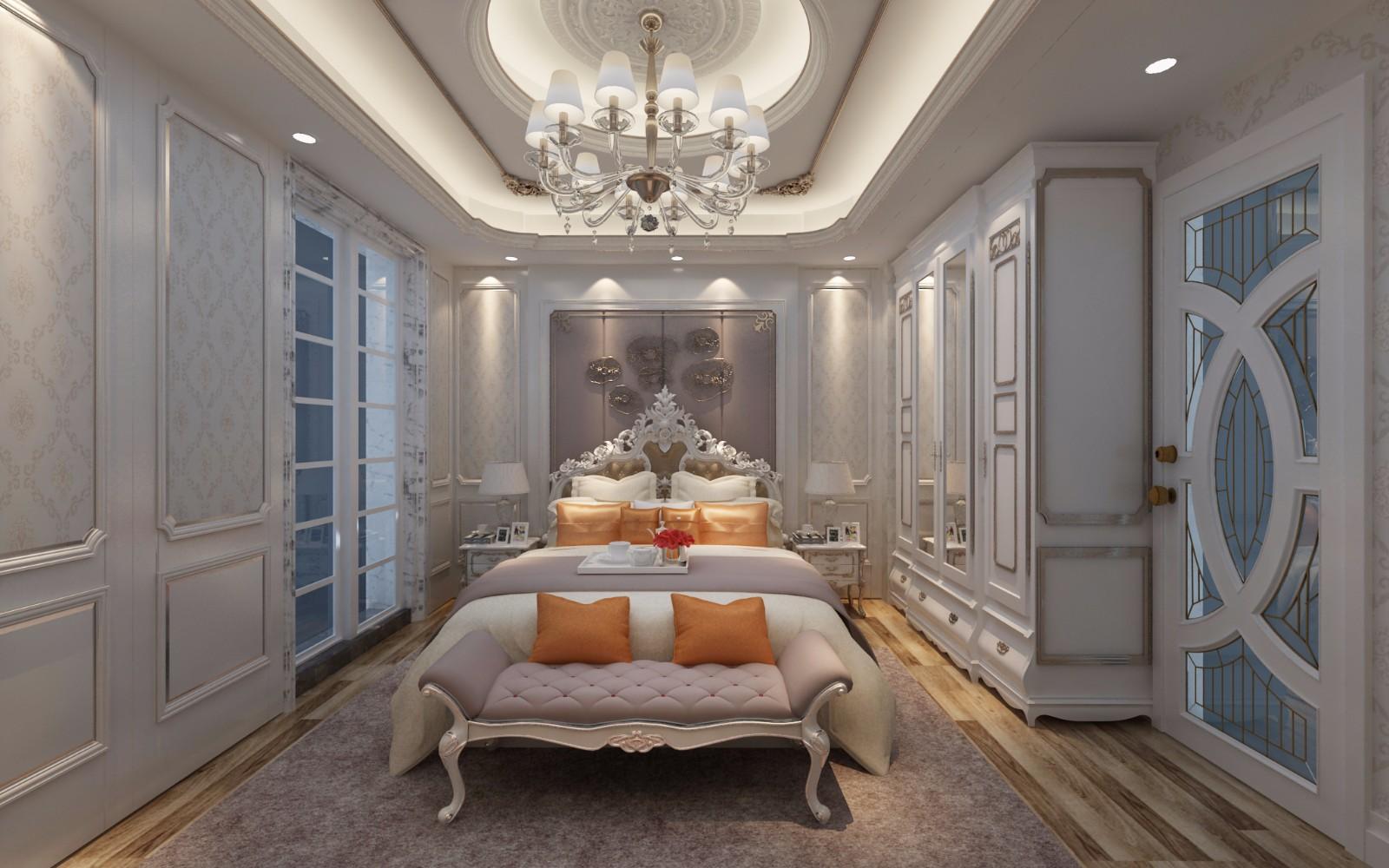 歐式臥室其它效果圖