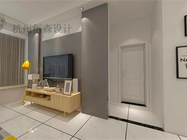 現代客廳背景墻效果圖