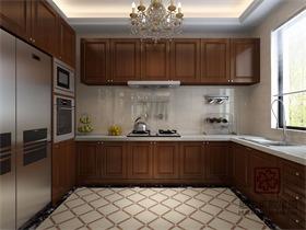 美式厨房吊顶效果图