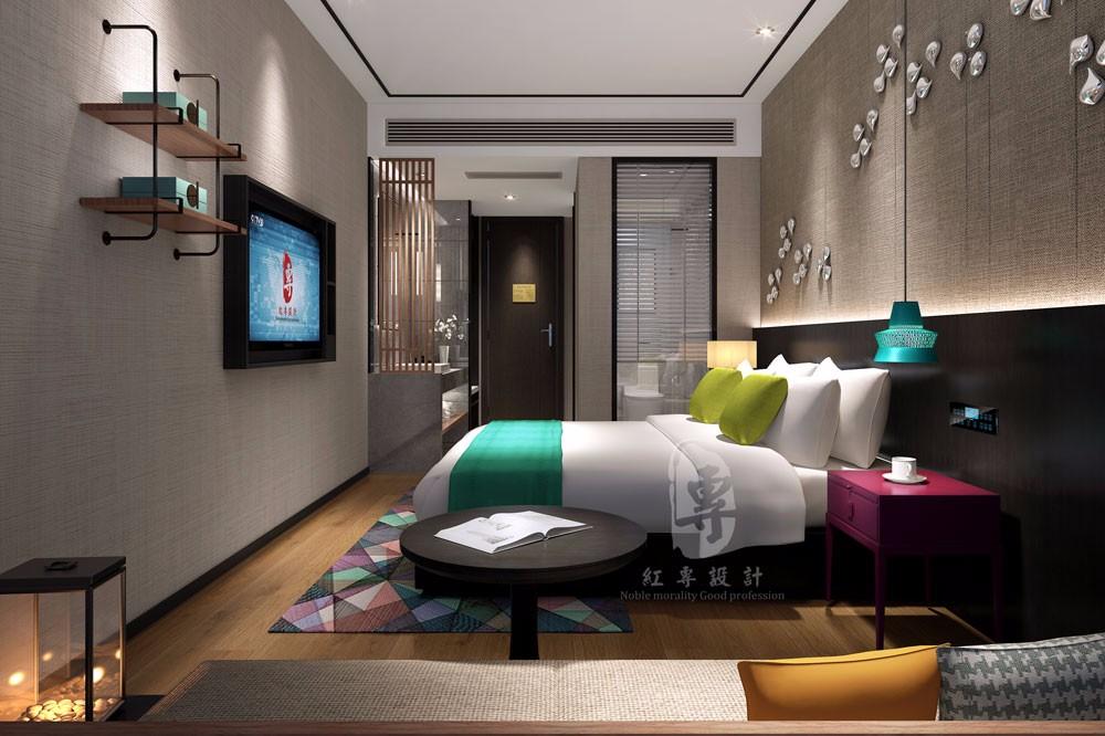 芜湖专业酒店设计公司-红专设计|莱美城市酒店