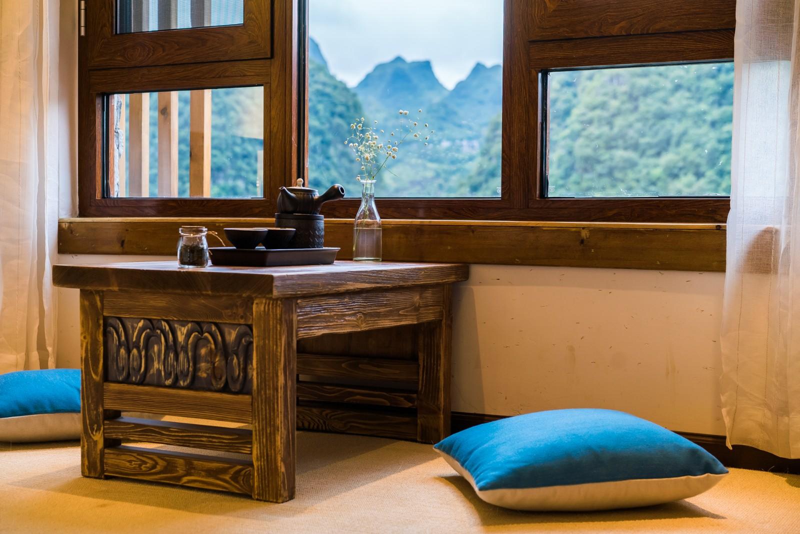 贵州兴义万峰林景棠度假庭院实景