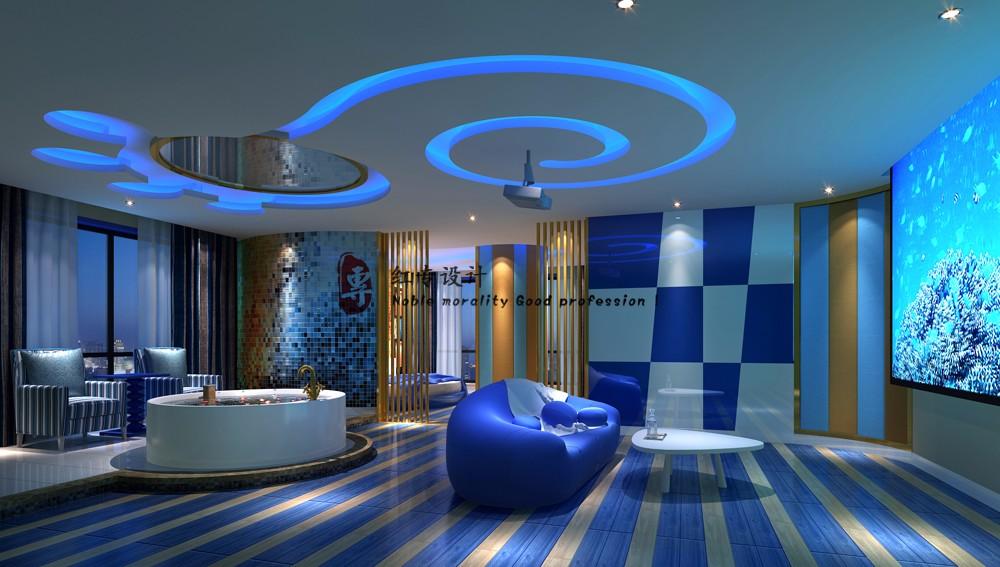 常德专业酒店设计公司-红专设计 爱情海主题酒店