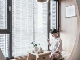 日式阳台吊顶实景图