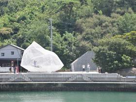 藤本壮介在直岛设计了一座白色半透明的亭子 Naoshima Pavilion