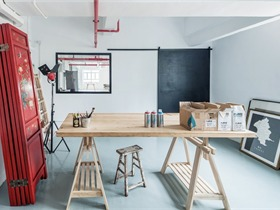 Lim + Lu林子设计将香港仓库改造成住宅工作室