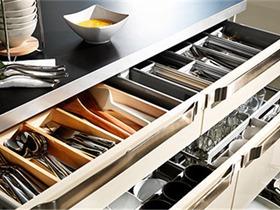 厨房收纳方法:小厨房也能有大空间!