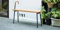 日本趣味长凳设计 设计师希望它能激发更多的偶遇