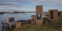 挪威海边度假小屋 轻触大海,与美景自然共存