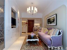 单身公寓改两房两厅