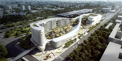 Aedas:三亚新建旅游枢纽设计竞赛最终获奖得主