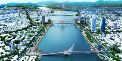 OMGEVING赢得越南岘港新城市规划设计竞赛第一名