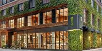 纽约中央公园1号酒店 空间中的天然材料彰显着其原始的标记
