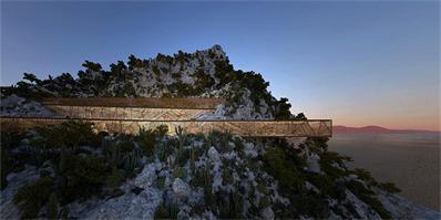 洛杉矶malka建筑最新工程 一座镶嵌在陡峭悬崖的住宅