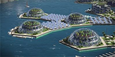 只会在科幻片里出现的海上漂浮城市或将在不久的2020成为现实