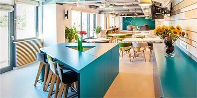 广告公司办公室设计 加入童话元素让员工充满激情与新鲜感