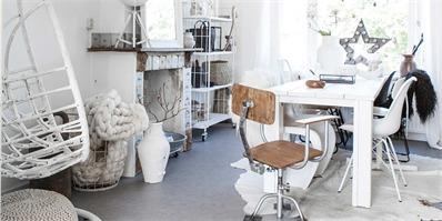 荷兰素雅黑白公寓设计 利用丰富的同色系装饰来代替色彩的点缀