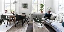 这间32平米的北欧公寓,用色彩和旧物定义气质