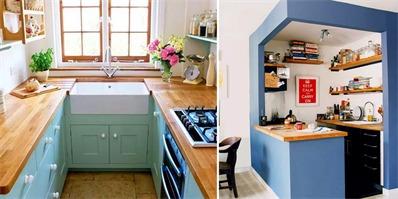 迷你厨房变大的秘密原来就这么简单