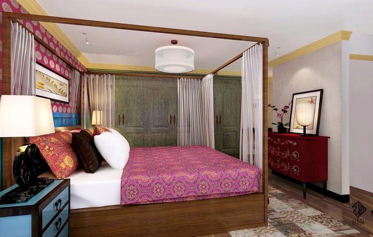 中式卧室其它实景图
