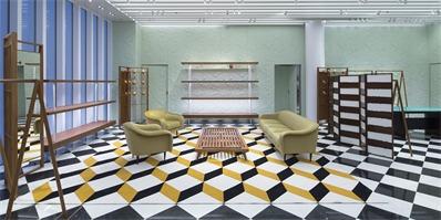 Prada迈阿密新店开幕,这次的门店设计放满了设计师家具