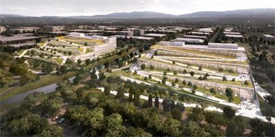 "Google加州新总部,近10万平米,取名""加勒比"""