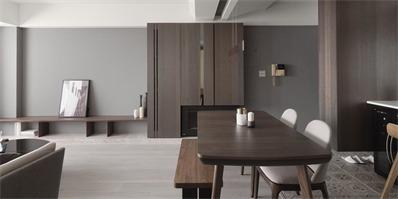 79㎡老屋改造,优雅灰,展现优雅宁静的生活气质