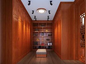 小三层别墅-中式风格