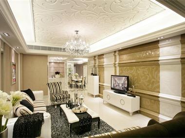 简约、清爽设计方式修饰整个空间。
